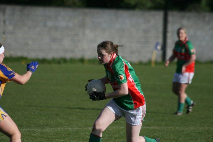 Junior Ladies Football Off To A Good Start