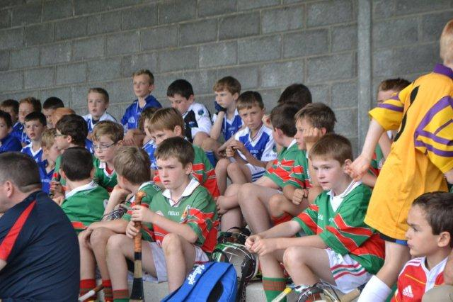 U10 Boys in Whitegate for First Blitz of 2015