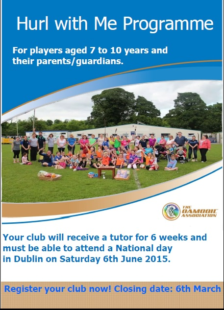 Hurl with Me Programme 2015