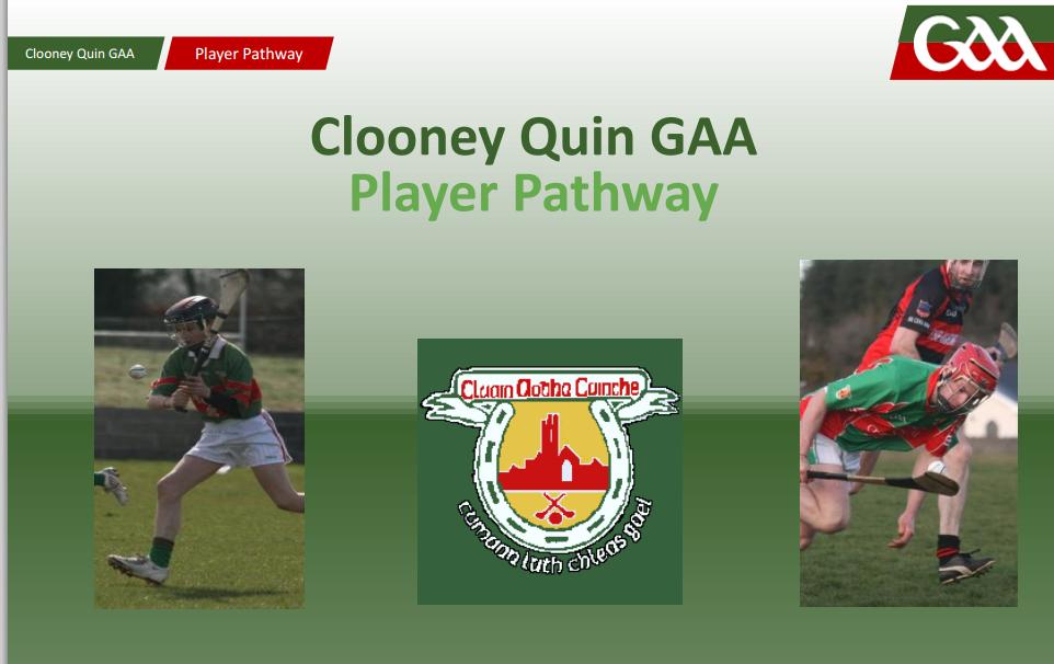 Clooney Quin GAA Coaching Meeting 10/09/15