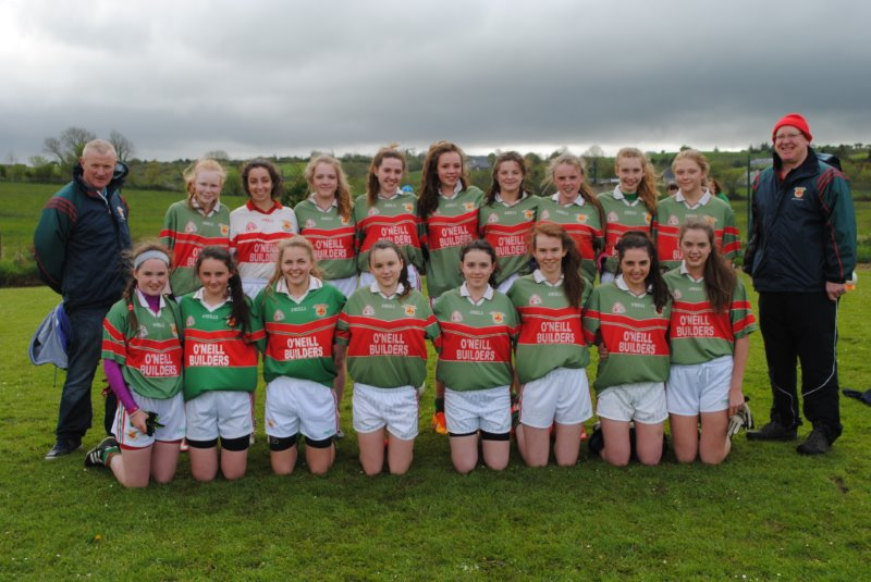 U16 Ladies Football County Champions