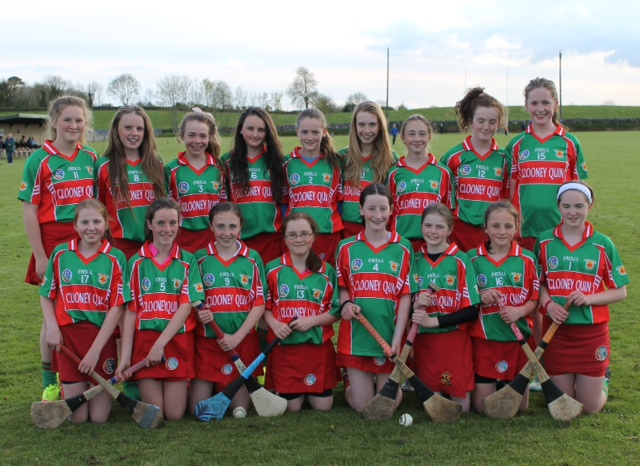 Camogie Division 4 Feile Champions