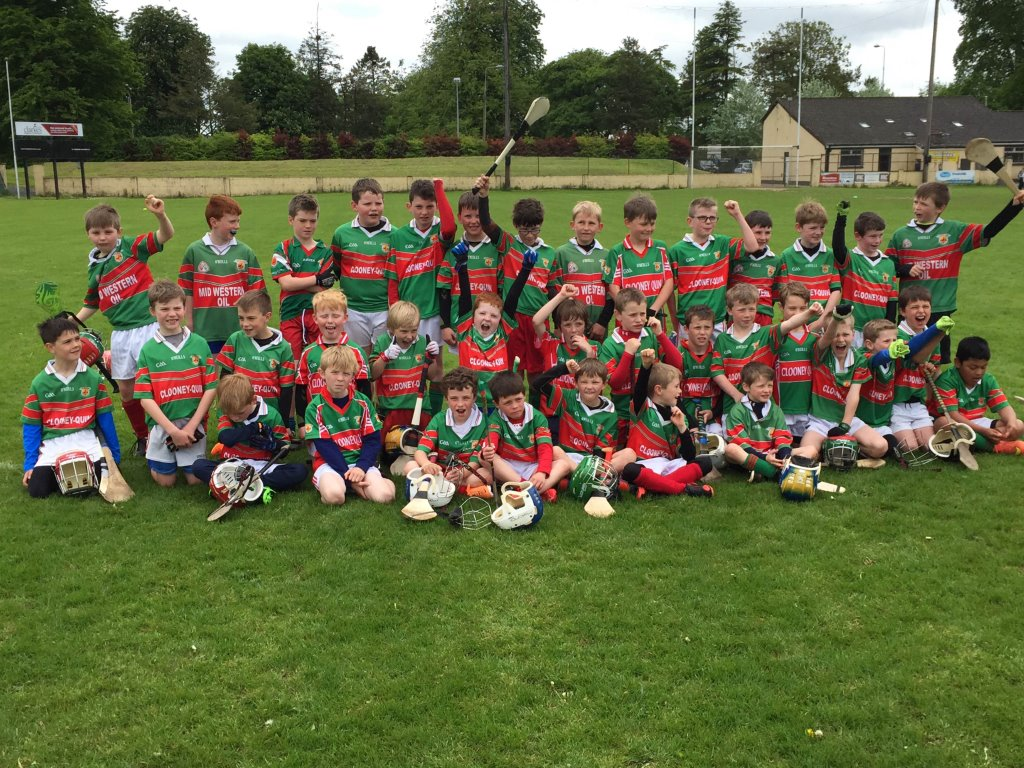 U9's, 10's and U11 Hurlers Back On The Road