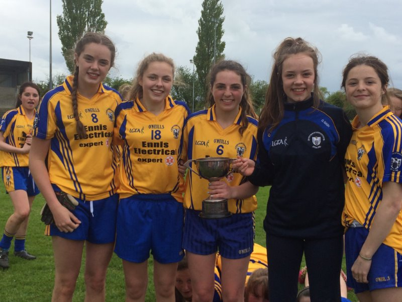 Congratulations To Out U16 Football Girls On Munster Title