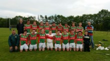 U 16s draw with Éire Óg in Challenge Game