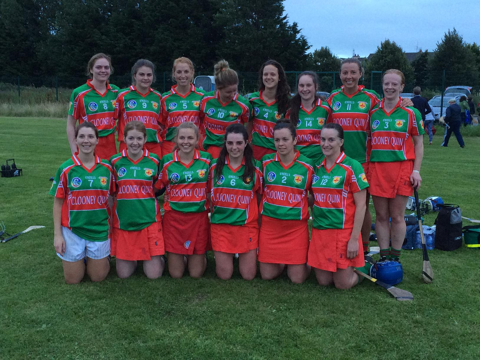 Senior Camogie 7's Competition Winners
