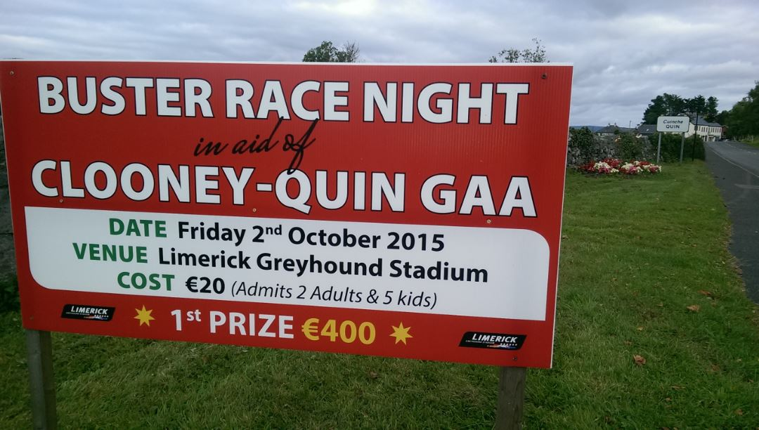 Dogs Race Night October 2nd Get Your Tickets!