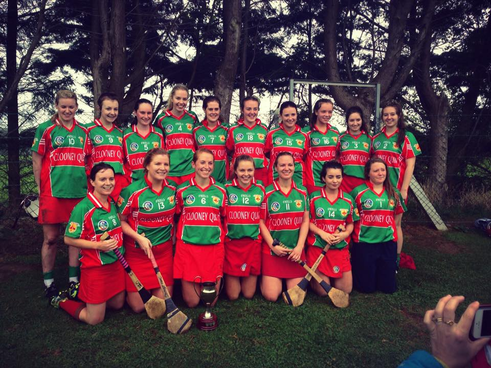 Camogie Junior B Winners 2015
