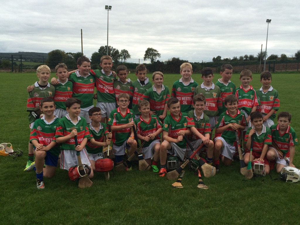 U11 Hurlers Continue A Their Good Form