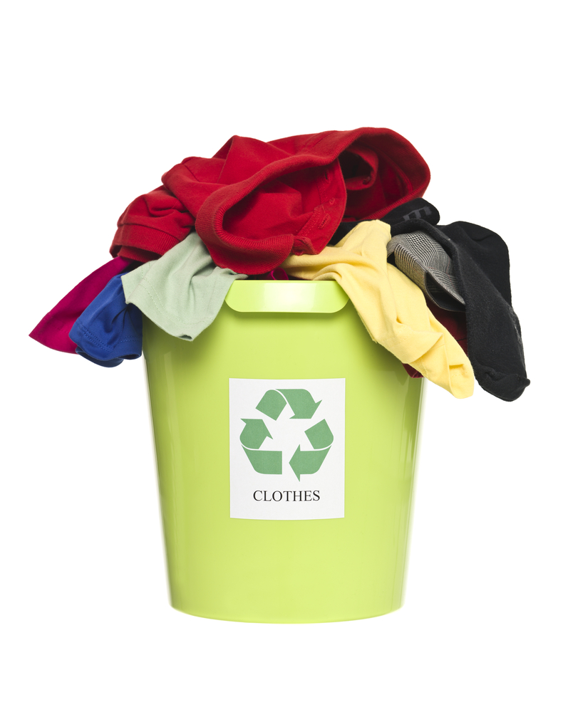 Recycle Unwanted Clothes and Textiles