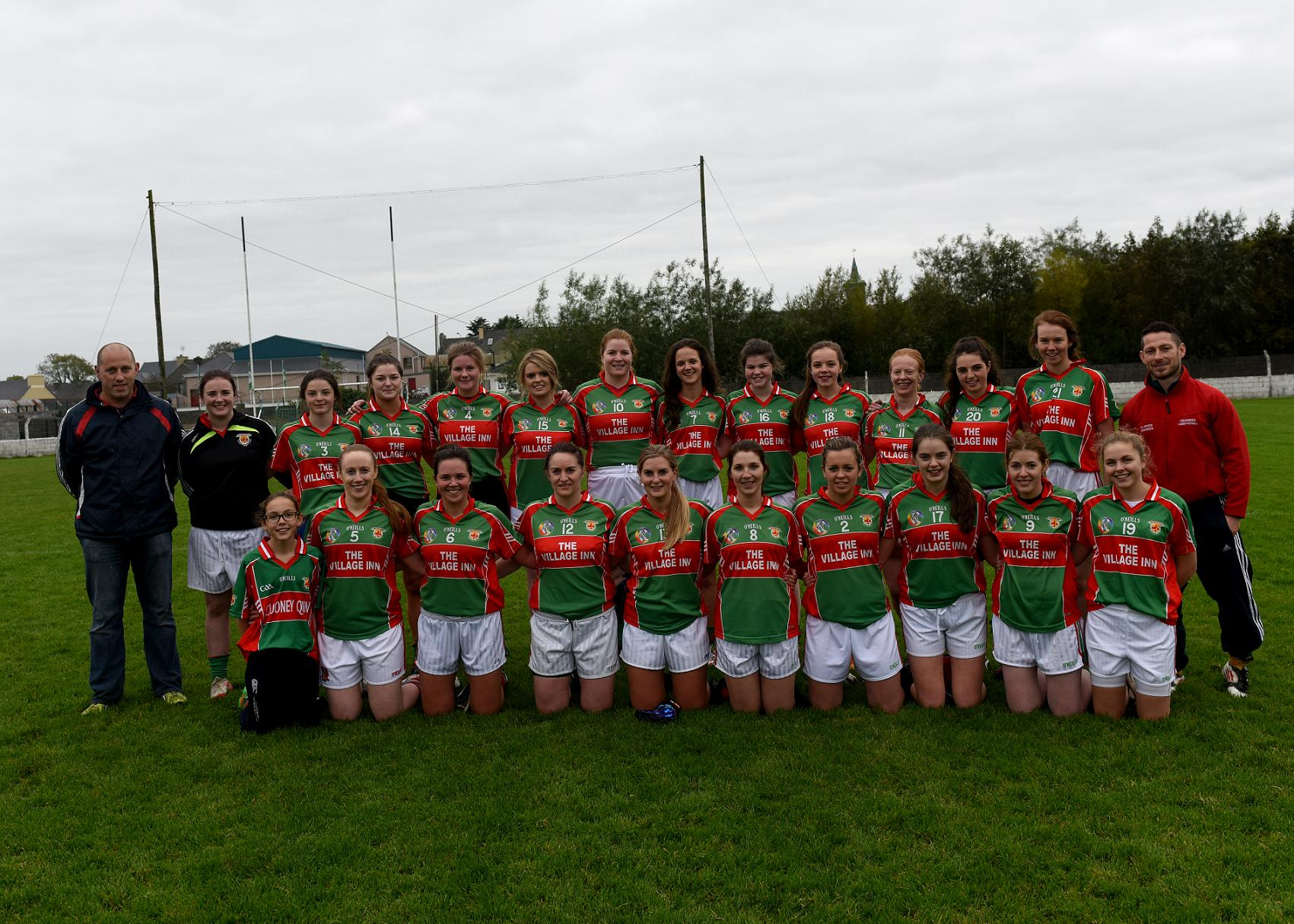 Junior Ladies Football Through To 11-A-Side Final