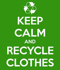 Recycle Drive Saturday ------ Gather Up Unwanted Clothes