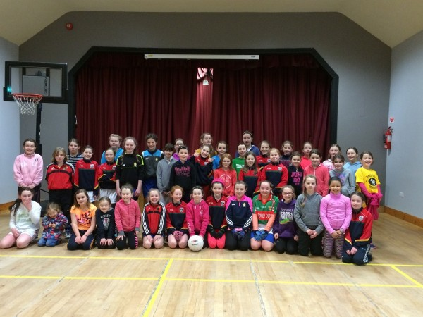 U10's & U12 Ladies Football Up and Running for 2016