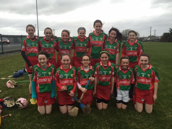 U14B Camogie Championship Round 1 for 2016
