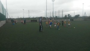 U8 first session