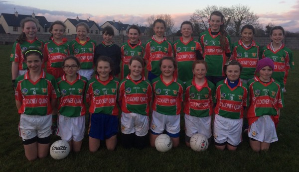 U12 Ladies Football Rd 3 2016