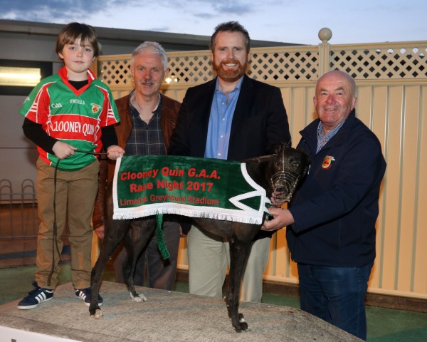 Club Wins 2017 Limerick Greyhound Race Night Package
