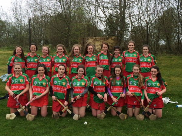 Minor Camogie - First victory secured
