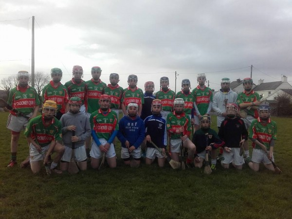 U14 Hurlers make it 2 out of 3