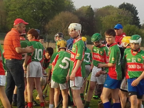 U14 Hurling Top of the Table