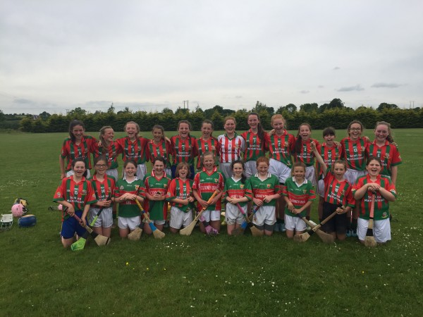 Quin NS Camogie Team through to Final