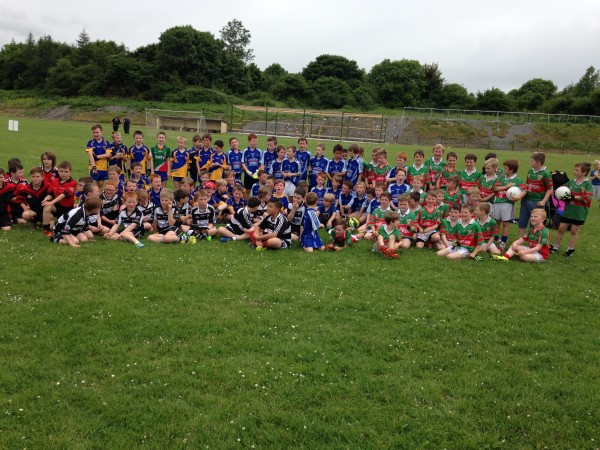 U10 Footballers at recent Blitz in The Banner