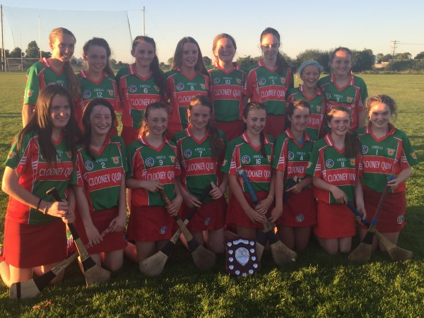 Camogie U15 League Winners