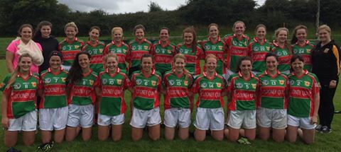 Ladies Football Through to Junior A Final