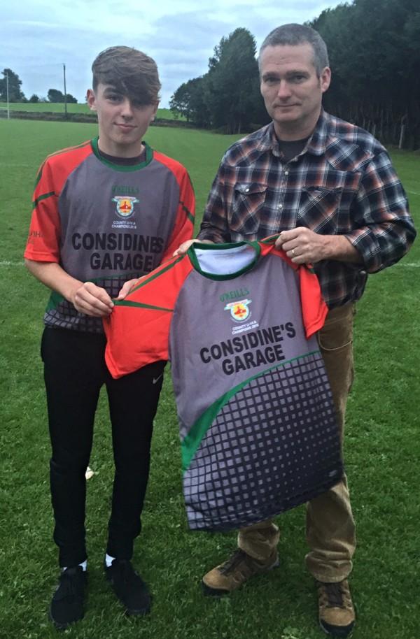 Considines Garage Dangan sponsors U14 Champions