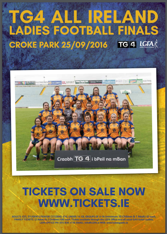 Best of Luck Louise Henchey and the Clare Team Sunday
