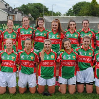 Junior A Ladies Football Champions for 2016