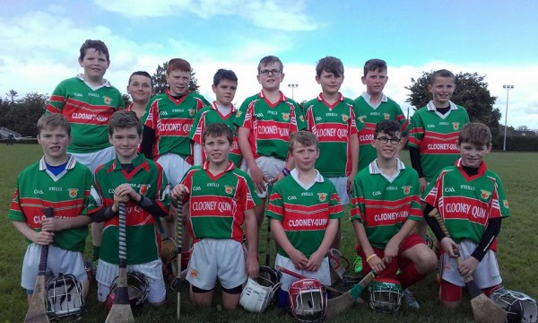 U11 Hurling in Monaleen