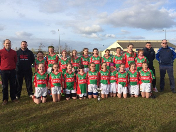 U12 Ladies Football beat Miltown