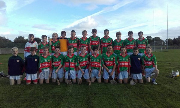 U13A Hurling Final Fixed for Sunday October 2nd
