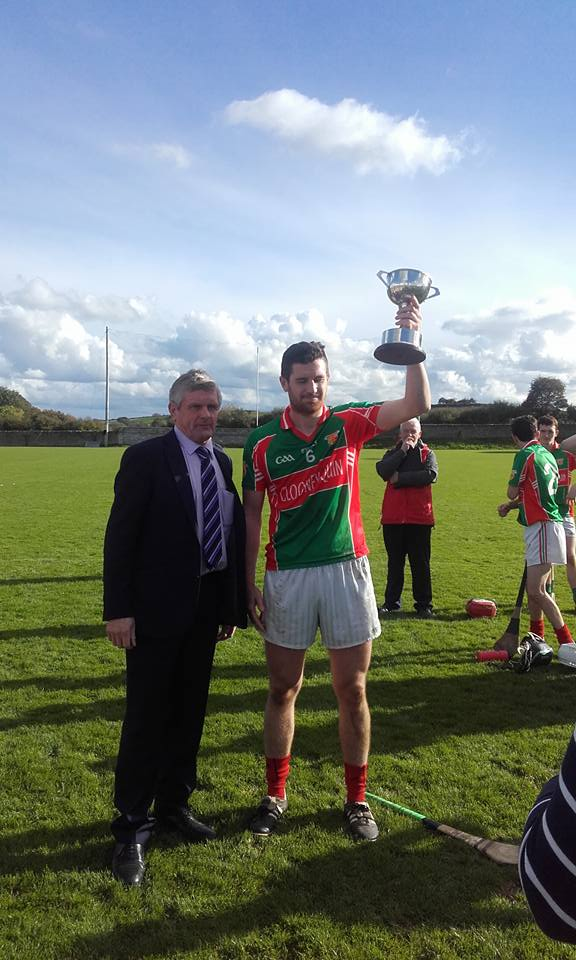 Senior B Hurling Title for Clooney Quin