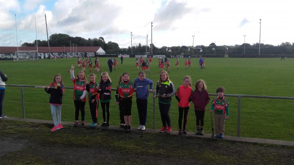 U10 Camogie Draws to a close for this season