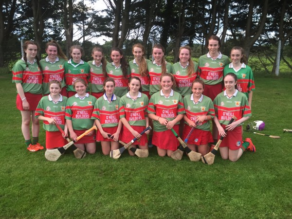 U16 Camogie through to semi final