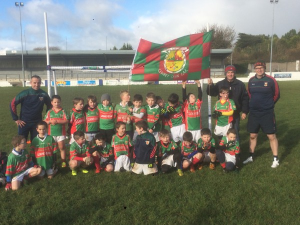 Super Trip to Mayo to Finish a Great Year in U8 Football.