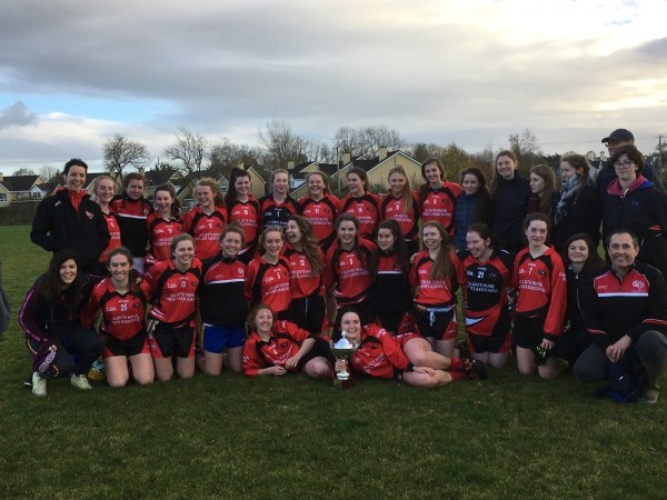 Clooney/Quin girls in Senior A Schools Final