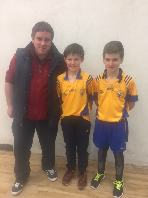 Well done Tadhg and David