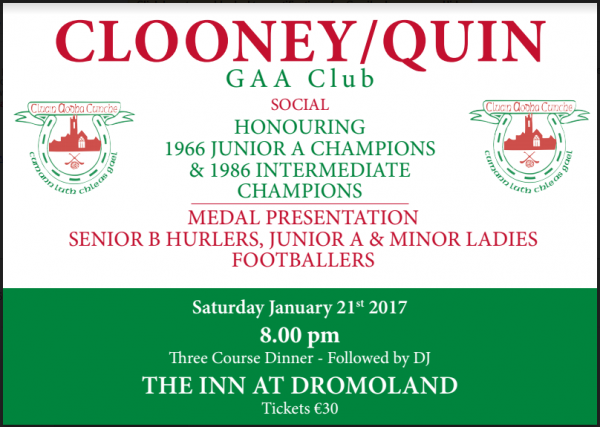 Gaa Social is nearly upon us. Have you got your ticket???