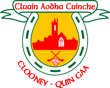 Clooney Quin Hurling and Football Club AGM Sunday November 25th 4pm