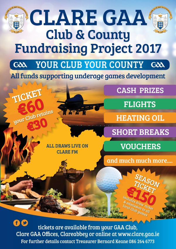 Clare Gaa Club & County Fundraising Project