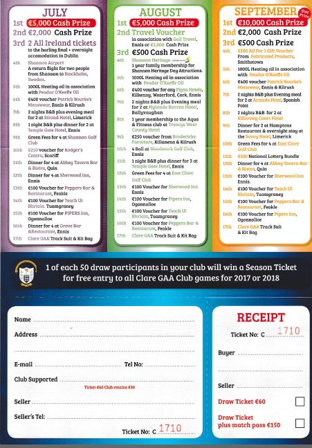 Co Board Season ticket for 2017