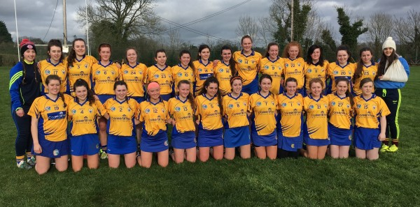 Best of Luck Ciara and Clare U18 Camogie Team