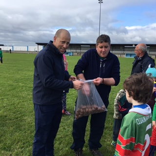 U10 Boys Hurling & Football + The Easter Bunny