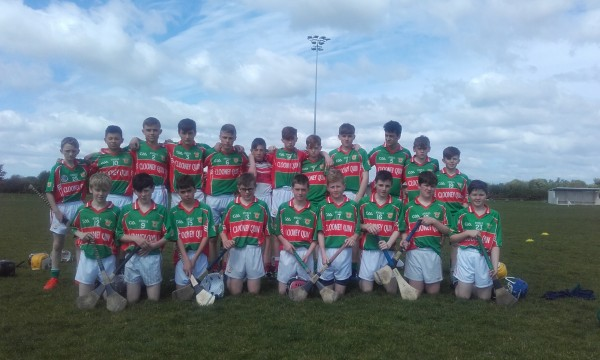U14 Hurlers narrowly beaten in QF