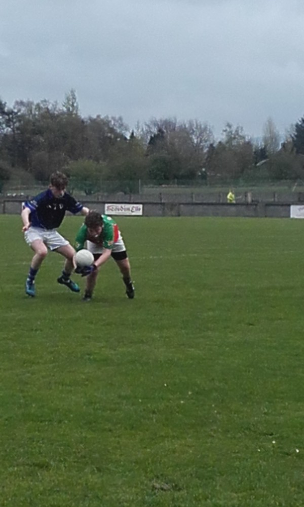 U16 Football into Final in Cusack Park