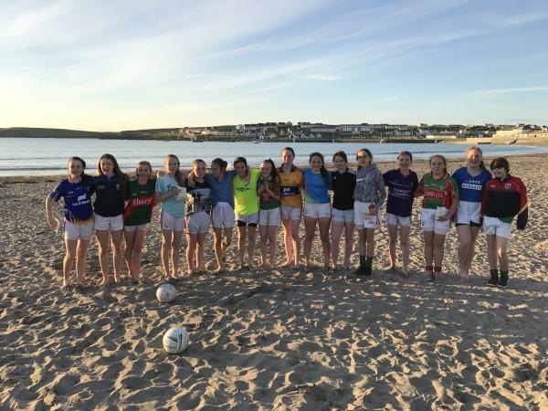 U14's match & trip to the beach