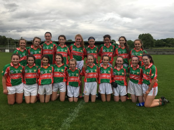 U14 Ladies Football Green Team complete round stage undefeated